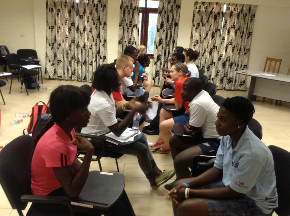 Figure 6 IDEALS 2013 Induction: Speed Dating